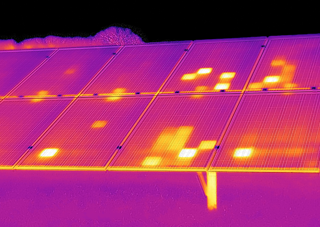 Solar Panels Thermal And Visual Inspection Terrascan